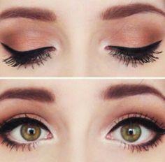 cool eye make-up