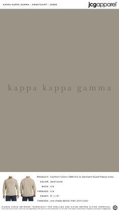 Kappa Kappa Gamma Sweatshirt | Sorority Sweatshirt | Greek Sweatshirt #kappakappagamma #kappa #kkg #Sweatshirt Fall Designs, Kappa Kappa Gamma, Custom Design Shirts, Sorority And Fraternity, Comfort Colors, Autumn Theme, Screen Printing, Colorful Shirts, Greek