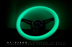 Image of (Glow in the dark) White Wood Wheel