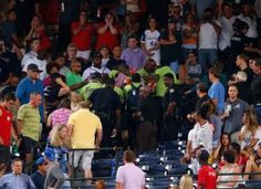 A baseball fan died after falling from the upper deck into the lower-level stands at Turner Field on August 29 during a Braves Game, Turner Field, Why Do People, Upper Deck, Atlanta Braves, Embedded Image Permalink, Sports News, Mlb