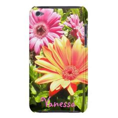 Gerber Daisies iPod Touch case from Zazzle.com