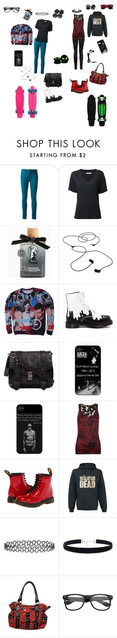 """""""Best Friends"""" by music-rules-1817 ❤ liked on Polyvore featuring Victoria Beckham, 6397, Torrid, AIAIAI, Dr. Martens, Proenza Schouler, Current/Elliott, Full Tilt, New Look and ZeroUV"""