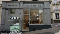Pastelería Gilles Marchal en París