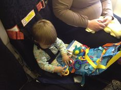 Organizer and Play Center for the Airplane