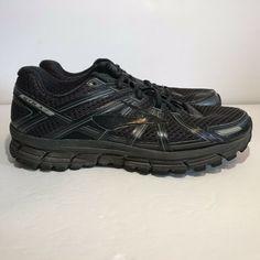 Disciplined Sas Tripad Comfort Vto Sneakers Sz 10 Ww Black Leather Hook And Loop Men's Clothing