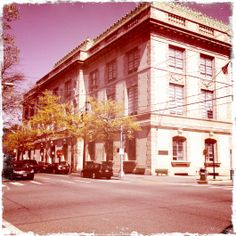 The main public library in Jersey City on Jersey Avenue next to Van Vorst Park is absolutely beautiful. The cornerstone was placed in 1899 and it was completed in 1901.