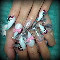 Glitter and bows
