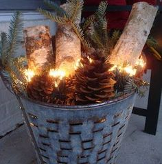 Give your home a warm and cozy rustic makeover with these DIY Christmas decor ideas. There are over a hundred ideas for indoor and outdoor Christmas decorations. From wood finishes and burlap accents to natural elements, your home will be filled with trad