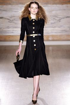 L'Wren Scott Fall 2013 RTW. There's a lot of 1940's influence on the runways this year and I love it.