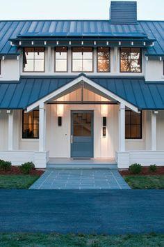 Atherton Residence - traditional - exterior - san francisco - Moroso Construction BLACK AND WHITE