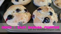 Quick & Easy Banana Muffins Muffins, Beverages, Banana, Sweets, Breakfast, Easy, Recipes, Food, Morning Coffee
