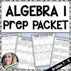 This versatile resource can be used in a variety of different ways. Math Teacher, Math Classroom, Teaching Math, Teaching Ideas, Classroom Ideas, Algebra Lessons, Algebra 1, Math Activities, Math Resources