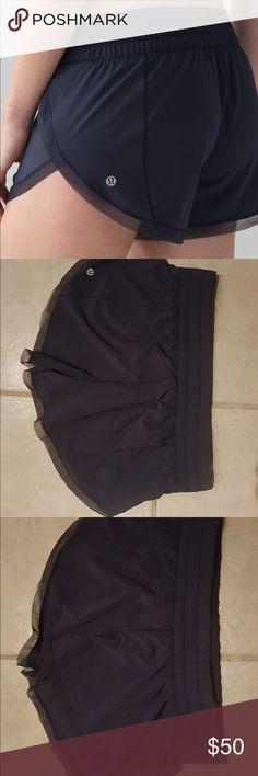 Lululemon women's shorts Lululemon Anew Short. Size 8. Navy. Worn once. lululemon athletica Shorts