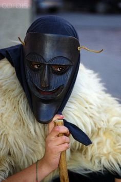 Carnival at Ottana village, Sardinia.