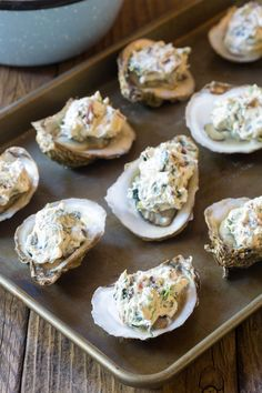 oyster recipes raw ~ oyster recipes ` oyster recipes baked ` oyster recipes grilled ` oyster recipes no shell ` oyster recipes rockefeller ` oyster recipes raw ` oyster recipes fried ` oyster recipes casseroles Brunch Recipes, Seafood Recipes, Cheddar, Baked Oyster Recipes, Recipes Using Cream Cheese, Baked Mussels, Easy Fish Tacos, Grilled Oysters, Raw Oysters