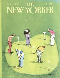 The New Yorker - Monday, August 17, 1987 - Issue # 3261 - Vol. 63 - N° 26 - Cover by : Charles Saxon