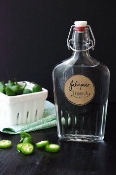 A Last-Minute Gift for Your Host:  Jalapeño-Infused Tequila!  — Gift Ideas from The Kitchn