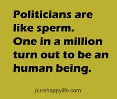 #quotes - Politicians are...more on purehappylife.com