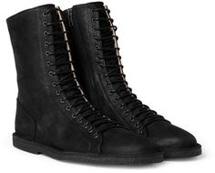 ann demeulemeester black boots - Google Search