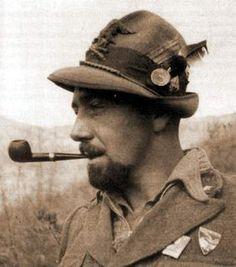 Piero Ghiglione in Albania nel - 1941 -
