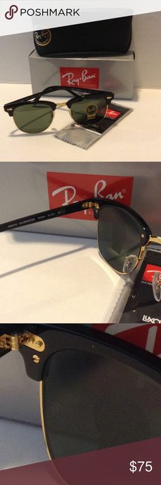 ef088147dc RAY BAN SUNGLASSES Clubmaster RB3016