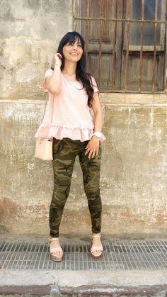 Militar Pink - Temporada: Primavera-Verano - Tags: fashion, look, ootd, moda, blogger - Descripción: http://sstardivariuss.blogspot.com.es/2016/06/militar-pink.html