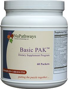 Basically, it has everything in it!  Serving Size 1 Packet (6 tablets, 3 capsules) • Servings Per Container 60