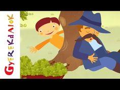 Lipem, lopom a szőlőt (gyerekdal, rajzfilm gyerekeknek) - YouTube
