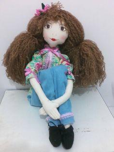 boneca de pano Raquel