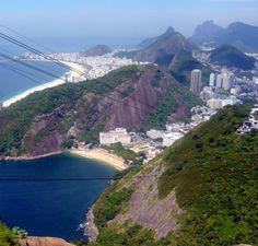 View from Christ the Redeemer, Rio de Janeiro