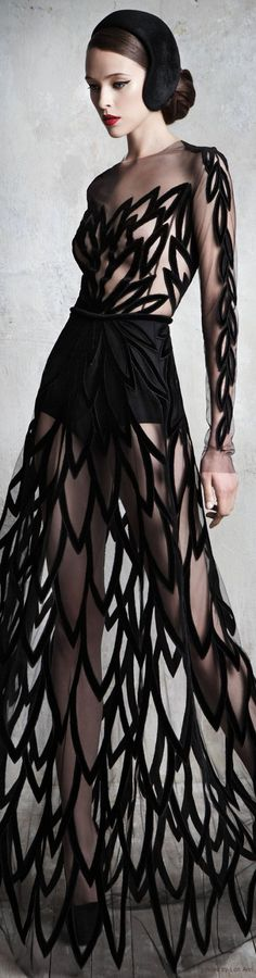 Yulia Yanina Couture #fashion #dress
