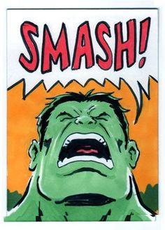 #Hulk #Animated #Fan #Art. (Hulk sketchcard art) By: GregMoutafis. ÅWESOMENESS!!!™ ÅÅÅ+