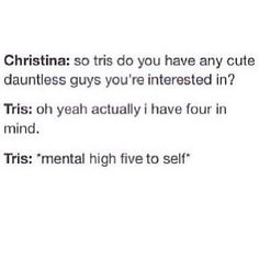 """An exchange of girl talk: 