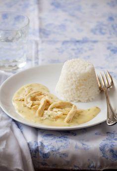 """Receta 175: Arroz blanco con gallina » 1080 Fotos de cocina  - proyecto basado en el libro """"1080 recetas de cocina"""", de Simone Ortega. http://www.alianzaeditorial.es/minisites/1080/index.html"""