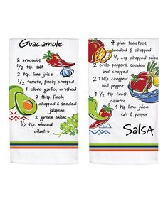 Take a look at this Guacamole Flour Sack Towel Set by Kay Dee Designs on #zulily today!