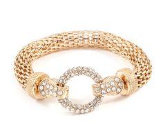 Crystal Taylor Bracelet in Gold ♥