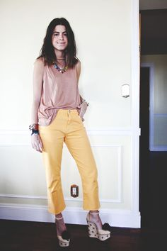 It Was All Yellow | Man Repeller