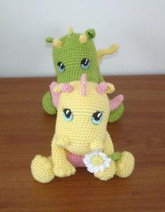 Dragon Free Crochet Pattern