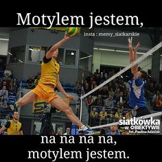 Przyznać się kto to zaśpiewał? Cant Breathe, Mikasa, Volleyball, Basketball Court, Instagram Posts, Sports, Hs Sports, Volleyball Sayings, Sport