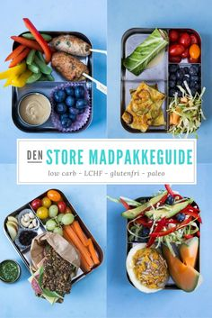 Se de mange lækre forslag her: Madbanditten. Herb Recipes, Paleo Recipes, Food N, Food And Drink, Recipes From Heaven, Easy Cooking, Food Inspiration, Kids Meals, Food Print