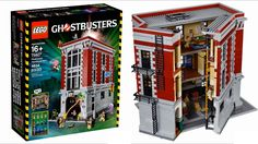 LEGO Ghostbusters Firehouse 2016 sets pictures - YouTube