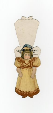 86.7707: paper doll | Paper Dolls | Dolls | National Museum of Play Online Collections | The Strong