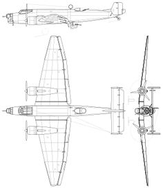 Junkers Ju 86 - Wikipedia, the free encyclopedia Luftwaffe, Lan Chile, Motor Radial, Motor Diesel, Technical Drawing, Aviation Art, Military Aircraft, Scale Models, Cutaway