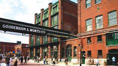 Toronto - The Distillery Historic District - boutiques, unique cafes, artisan shops, performance venues and award-winning restaurants Great Places, Places To See, Beautiful Places, Toronto Neighbourhoods, Toronto Travel, Downtown Toronto, Toronto Canada, Canada Eh, Travel
