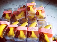 Banana cake for birthday