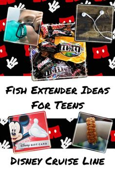 Fish Extender Gift and Craft Ideas for Teens - Teen Girls and Teen Boys - Disney Cruise Line Fish Extender Gifts Disney Cruise Line, Disney Halloween Cruise, Disney Souvenirs, Disney Trips, Disney Travel, Disney Vacations, Family Vacations, Disney Parks, Teen Girl Crafts