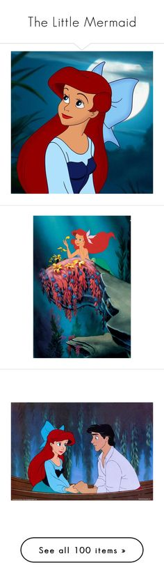 """""""The Little Mermaid"""" by bluetidegirl ❤ liked on Polyvore featuring disney, icons, little mermaid, ariel, icon pictures, the little mermaid, pictures, backgrounds, art and disney pictures"""