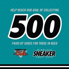 Please help us collect over 500 pairs of gently used shoes by bringing your donation to the Winnipeg Sneaker Swap Expo. Every shoe counts! #wpgsgotsole #wsse2017 #ggdgt #goodguysdoinggoodthigs #charity #giveback