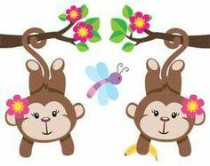 Las 25 Mejores Imágenes De Monos En 2016 Monkey Appliques Y