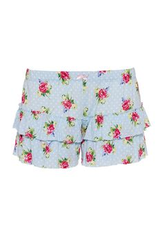 Image for Ditsy Floral Ruffle Short from Peter Alexander